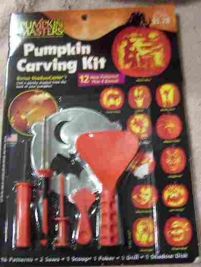 Books kits and tools for caring pumpkins